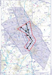 East Midlands Runway 09 Departure Routes