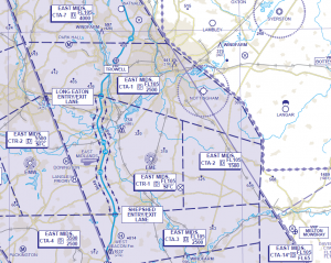 East Midlands Controlled Airspace