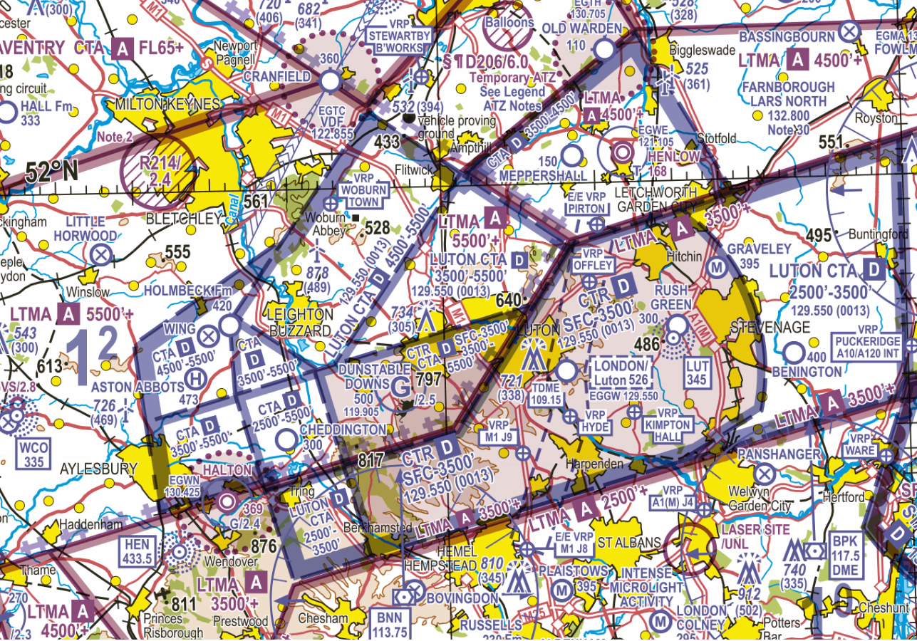 Luton Controlled Airspace narrative Figure 1