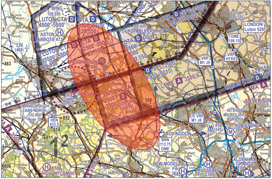 Luton Controlled Airspace narrative Figure 6