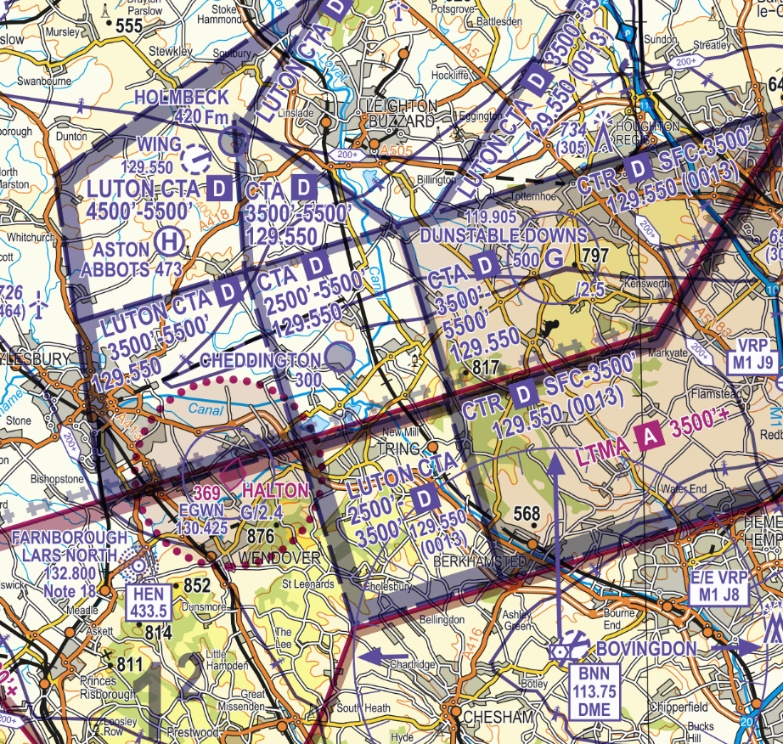 Luton Controlled Airspace narrative Figure 7
