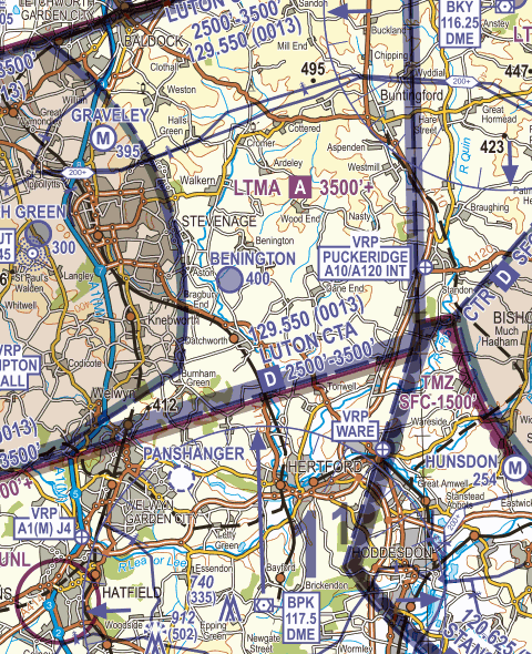 Luton Controlled Airspace narrative Figure 8