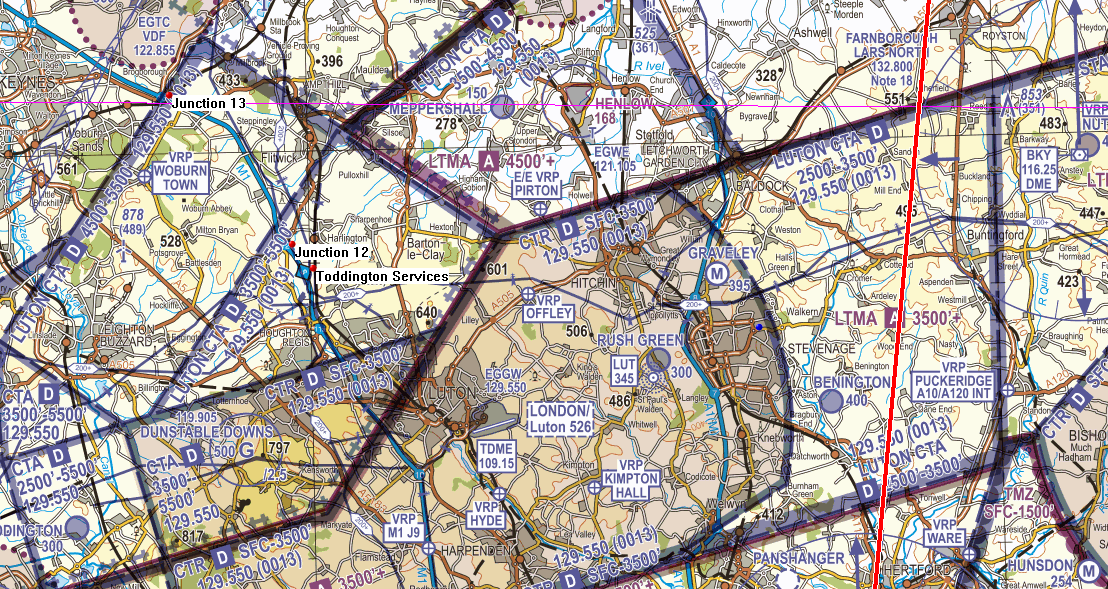Luton Controlled Airspace narrative Figure 9